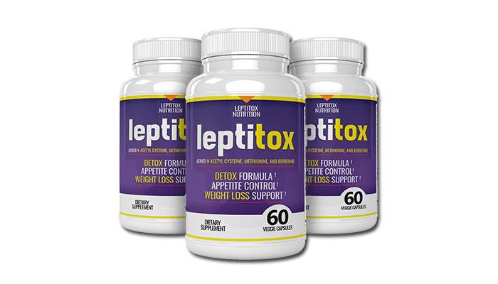 Leptitox 3 bottles