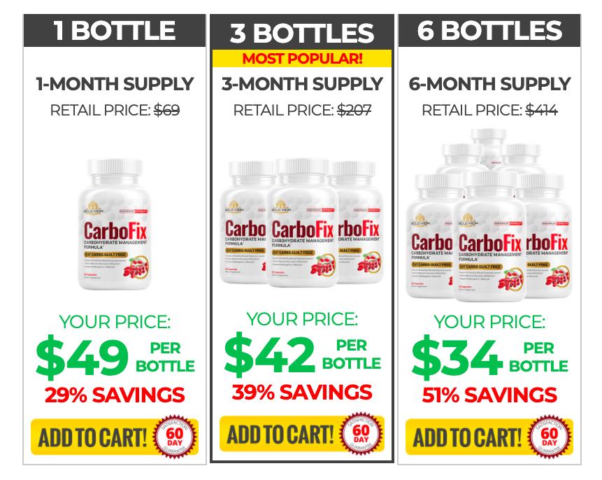 CarboFix Pricing 1