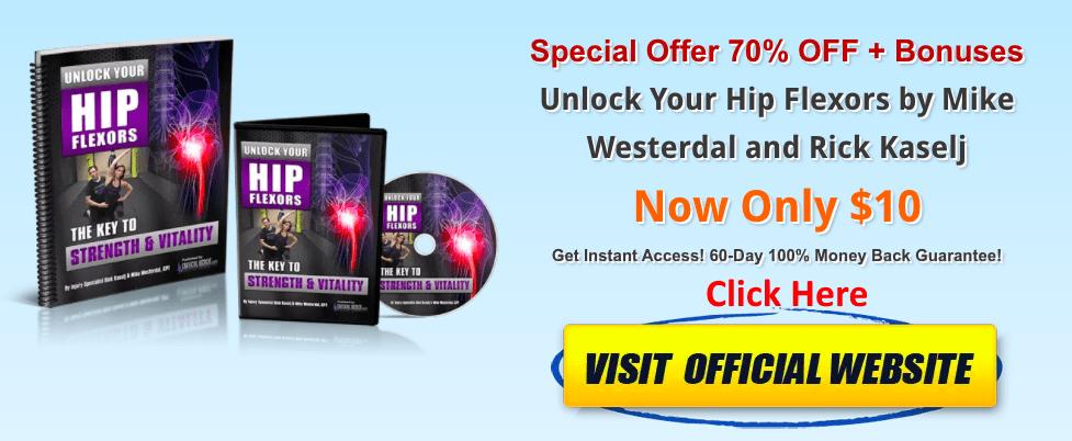 Unlock Your Hip Flexors banner