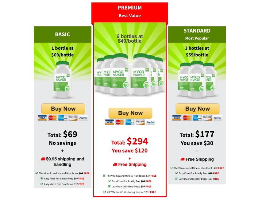 myco nuker pricing