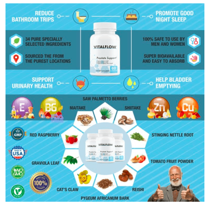 vital flow ingredients