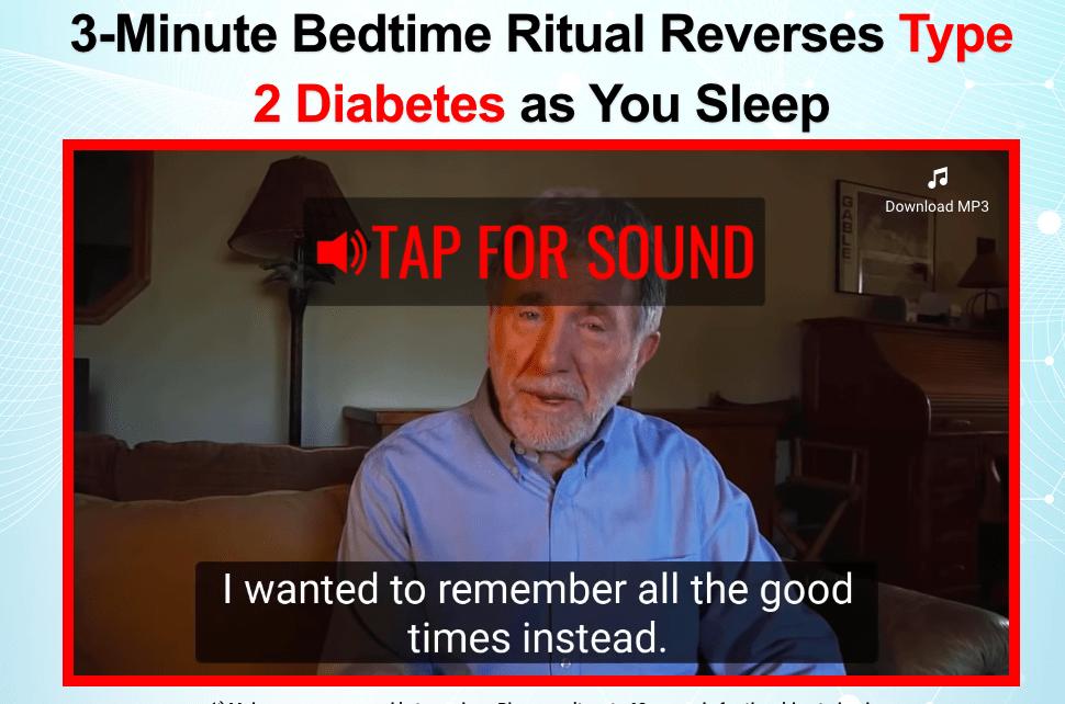deep sleep diabetes remedy video