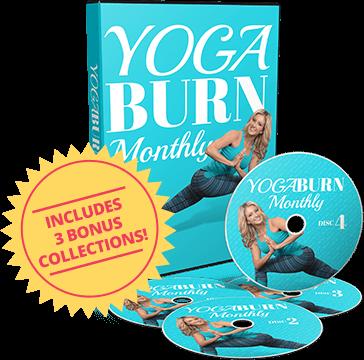 yoga burn monthly