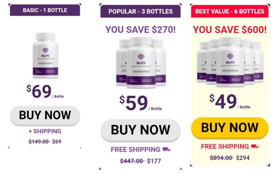 biofit pricing